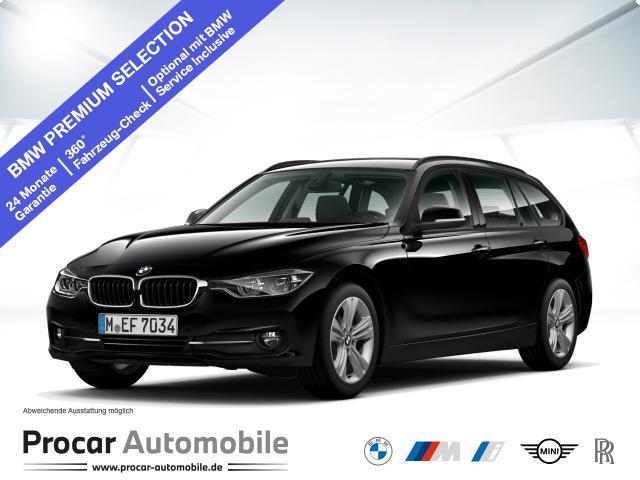 BMW 316d Touring Sport Line Aut. Navi LED RFK Shz, Jahr 2018, Diesel