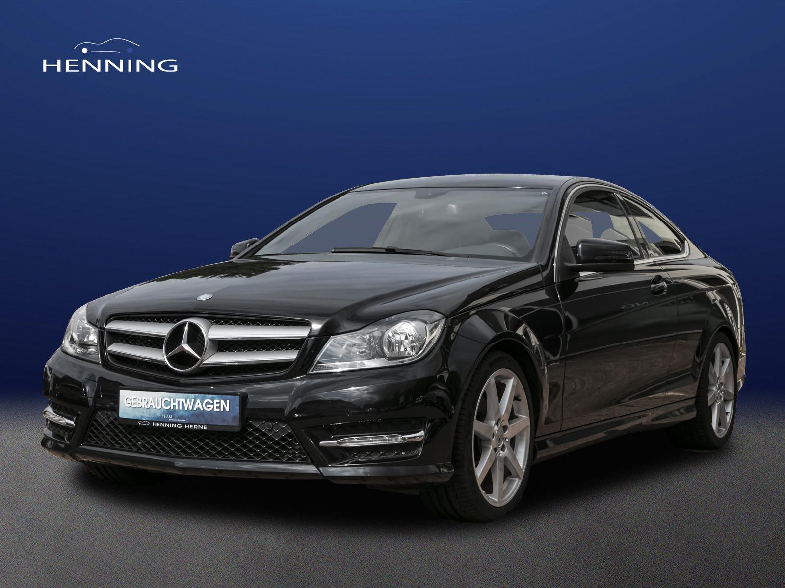 Mercedes-Benz C 180 CGI Sportpaket AMG Automatik SHZ PTS, Jahr 2013, Benzin