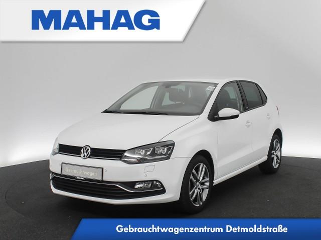 Volkswagen Polo 1.2 TSI Allstar Navi LED ParkPilot 16Zoll 5-Gang, Jahr 2017, Benzin