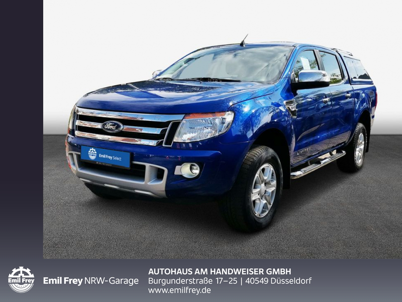 Ford Ranger Automatik Limited Hardtop Standheizung, Jahr 2014, Diesel