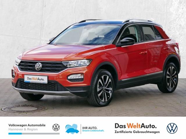 Volkswagen T-ROC 1.6 TDI United Navi STHZG PDC SHZ, Jahr 2020, Diesel