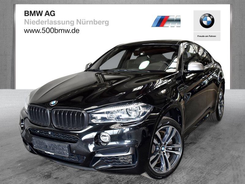 BMW X6 M50d EURO6 Sportpaket Head-Up HK HiFi DAB LED Standhzg., Jahr 2017, Diesel