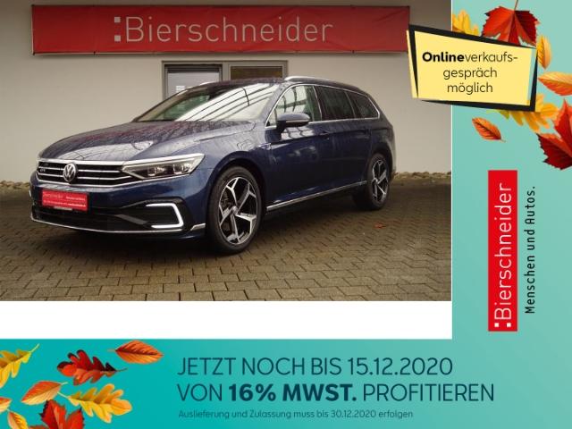 volkswagen passat variant 1.4 tsi dsg gte facelift iq.light ahk stand dynaudio, jahr 2019, hybrid
