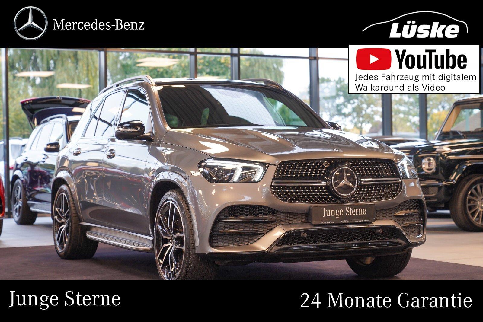 Mercedes-Benz GLE 400 d 4M AMG Line Night 22 AIR Assistenz AHK, Jahr 2019, Diesel