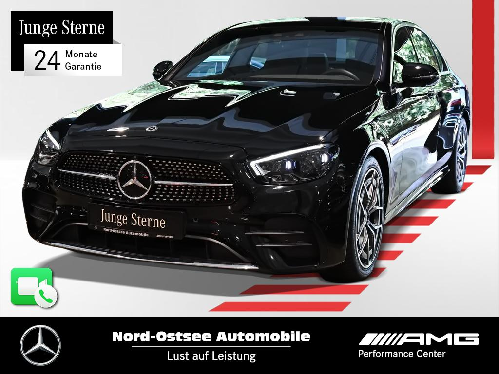 Mercedes-Benz E 220 d AMG Navi AHK Distro Mopf MBUX LED 360°, Jahr 2020, Diesel