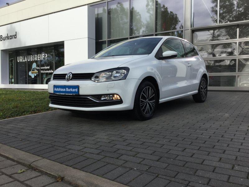 Volkswagen Polo Comfortline, Nebelscheinw., Park-Distance-Control, Climatic, ISOFIX, Jahr 2016, Benzin