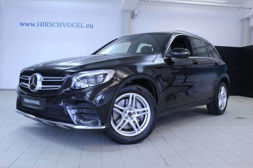 Mercedes-Benz GLC 350 d 4M AMG-Line+Pano+DISTRONIC+Com+ILS+Kam, Jahr 2017, Diesel