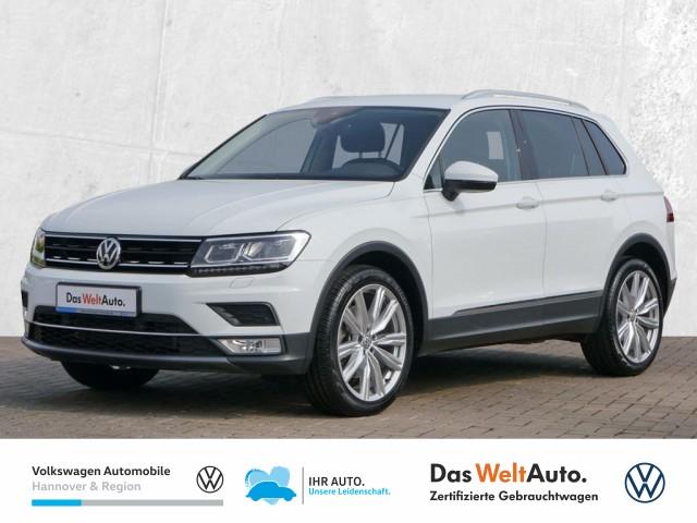 Volkswagen Tiguan 2.0 TSI DSG 4Motion Highline Navi LED Klima ACC PDC, Jahr 2016, Benzin