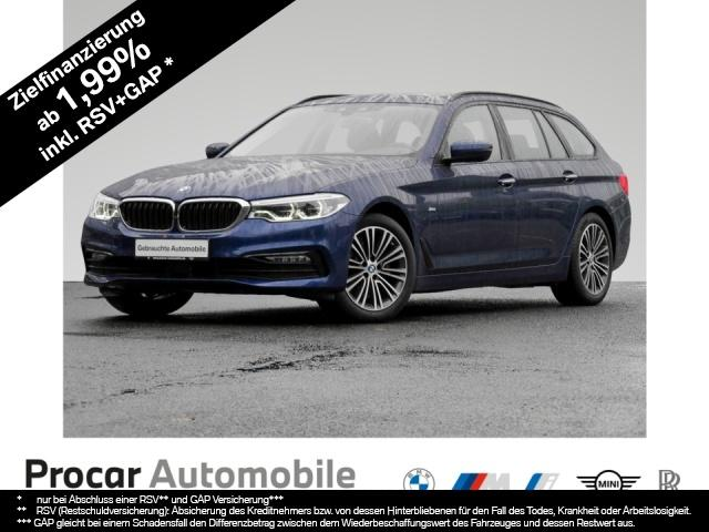 BMW 520d Touring Sport Line Navi Prof. Panorama AHK, Jahr 2018, Diesel