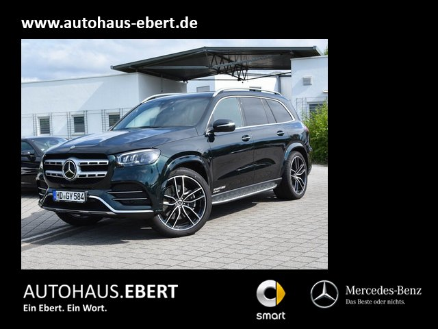 Mercedes-Benz GLS 580 4MATIC+AMG-Line+Head-Up+DISTRONIC+AHK, Jahr 2021, Benzin