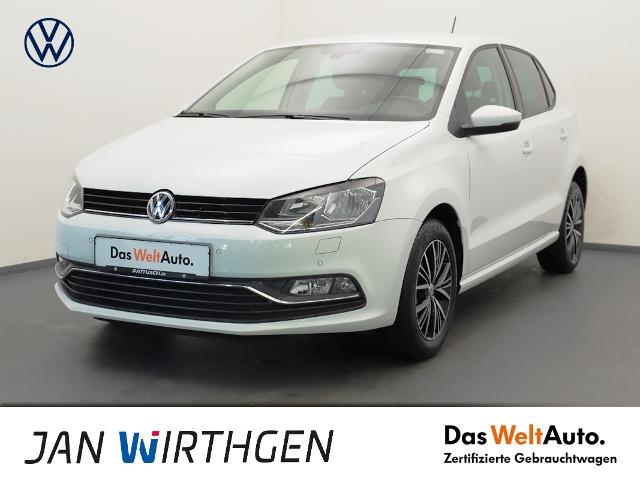 Volkswagen Polo 1.2 TSI Allstar*AHZV*TEMPOMAT*, Jahr 2016, Benzin