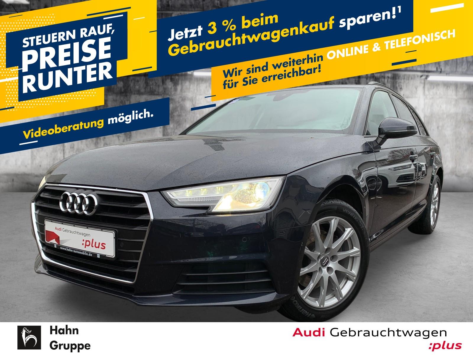 Audi A4 Avant 2.0TDI S-trc Navi Xen AHK Sitzh Einpark, Jahr 2016, Diesel