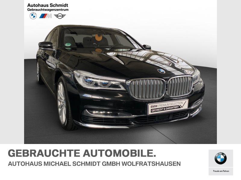 BMW 750d Ld xDrive MASSAGE+NIGHT VISION+TV+FOND ENTERTAINMENT+, Jahr 2018, Diesel