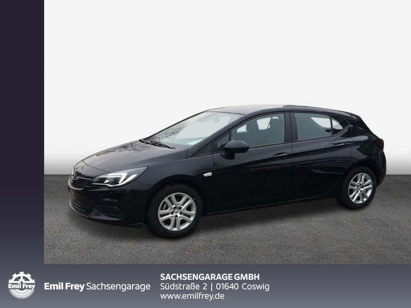 Opel Astra 1.2 Turbo Start/Stop Klima PDC v+h Lichtausst., Jahr 2019, Benzin