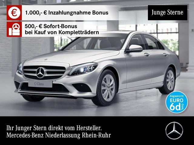 Mercedes-Benz C 180 Avantgarde Multibeam SHD Kamera Spurhalt-Ass, Jahr 2019, Benzin