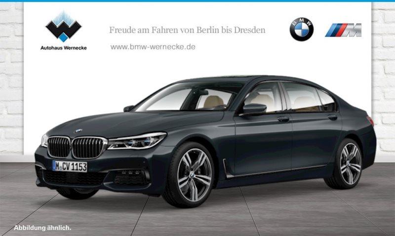 BMW 740d Ld xDrive Limousine Touch Command Head-Up, Jahr 2016, Diesel