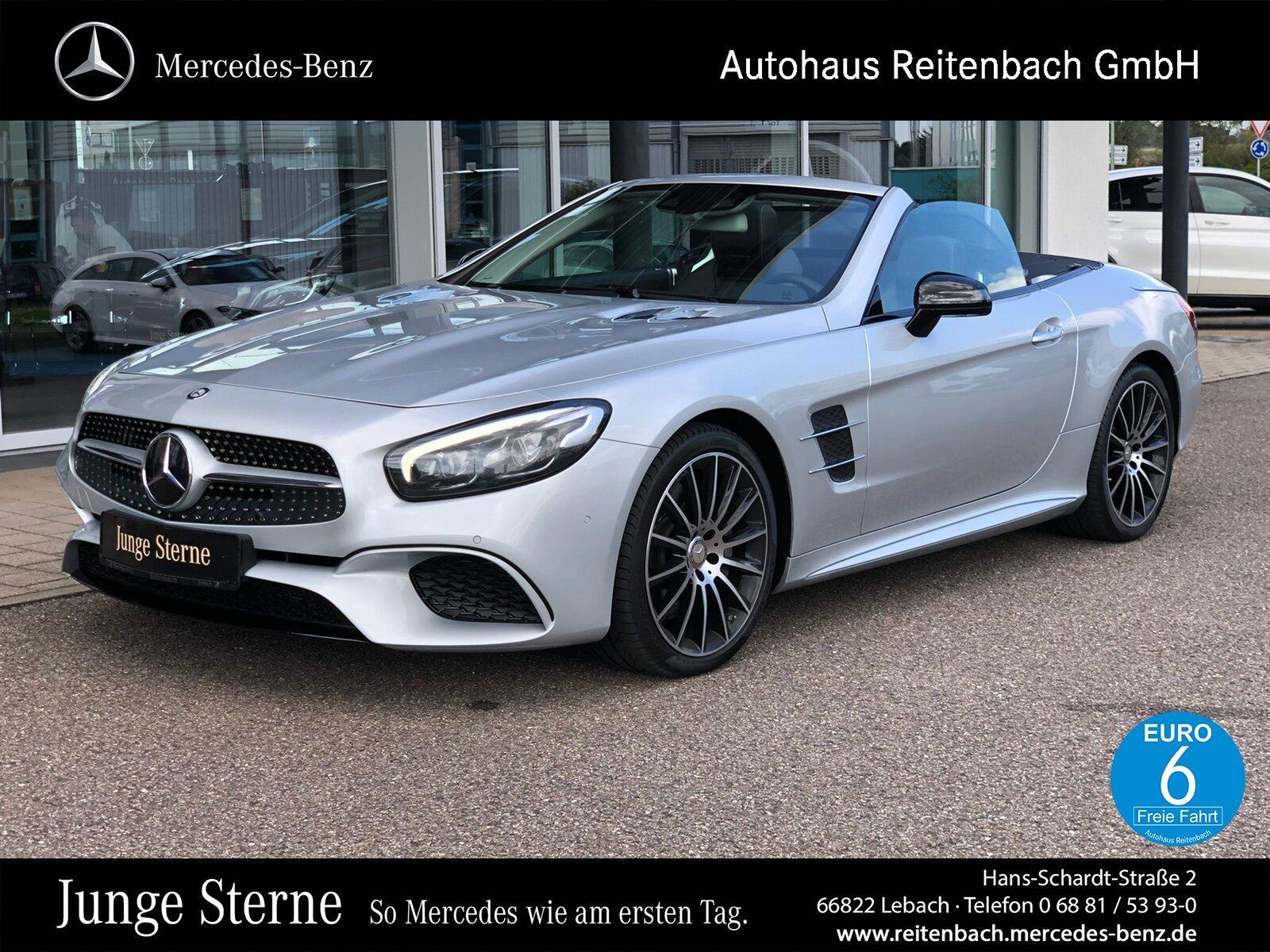 Mercedes-Benz SL 500 AMG Line/COMAND APS/Pano.-Dach/Distronic, Jahr 2016, Benzin