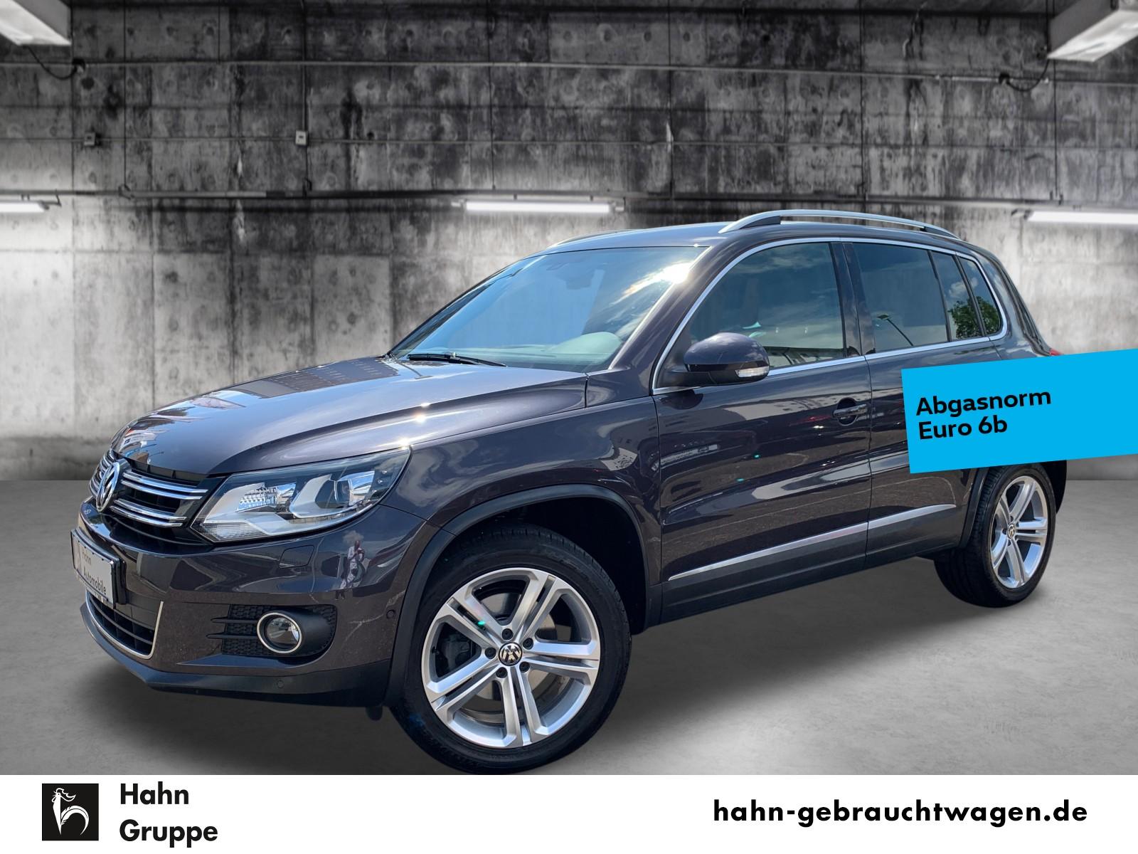 Volkswagen Tiguan LOUNGE 1,4TSI Navi Xenon Kamera Temp Park, Jahr 2016, Benzin