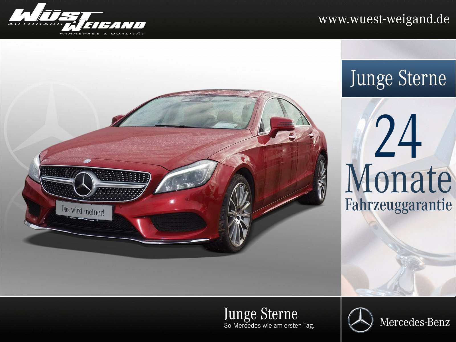Mercedes-Benz CLS 500 4Matic AMG-Line+SHD+Navigation+Distronic, Jahr 2015, Benzin