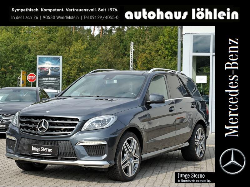 Mercedes-Benz ML 63 AMG 4M PANO-SD+STANDHEIZUNG+SHZ Drivers P., Jahr 2015, Benzin