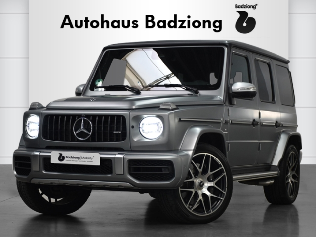 Mercedes-Benz G 63 AMG Stronger Than Time Leder LED Navi 360Kamera e-Sitze ACC, Jahr 2020, Benzin