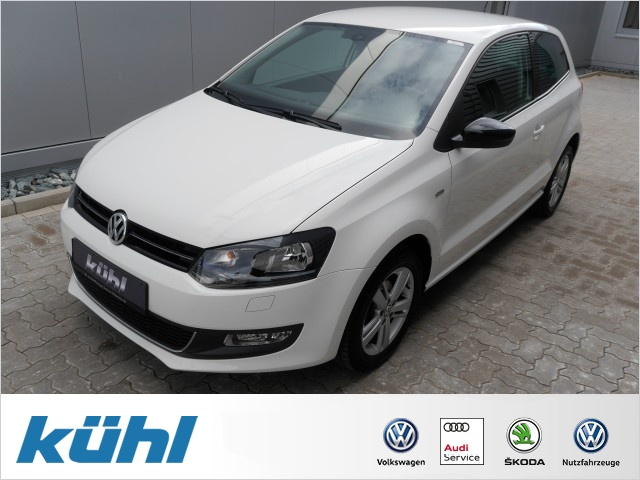 Volkswagen Polo V 1.2 Match Klima,GRA,LM15 Einparkhilfe, Jahr 2012, petrol