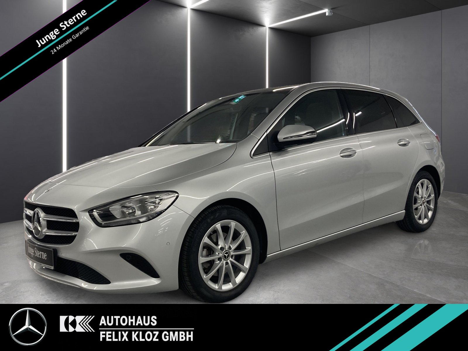 Mercedes-Benz B 180 Progressive Panorama*Sitzhzg*Park-As.*MBUX, Jahr 2019, Benzin