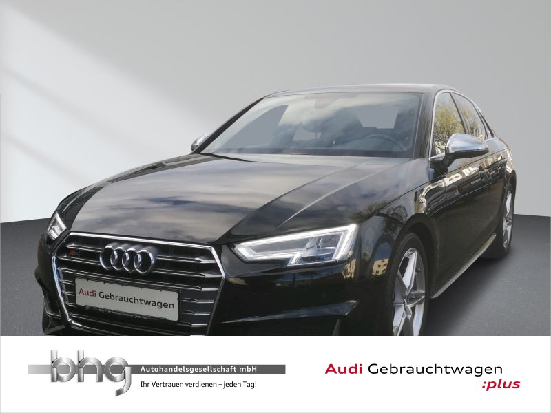Audi S4 Limousine 3.0 TFSI Quattro LED/Navi/Assist/Eiparkhilfe uvm., Jahr 2017, Benzin