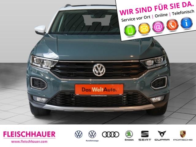 Volkswagen T-Roc IQ.DRIVE 1.5 TSI ACT NAVI PANORAMAD. ACC, Jahr 2020, Benzin