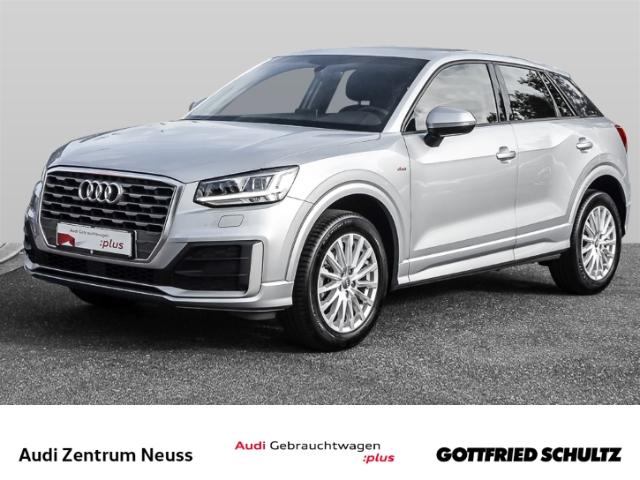 Audi Q2 30 TFSI design s-line NAV CLIM LED SHZ MUFU FHE Design, Jahr 2020, Benzin