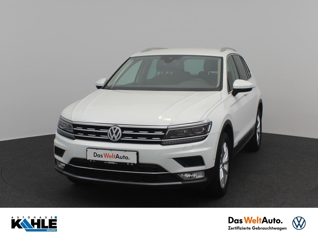 Volkswagen Tiguan 1.4 TSI BMT DSG 4-Motion Highline Navi LED AHK Active Info Klima, Jahr 2016, Benzin