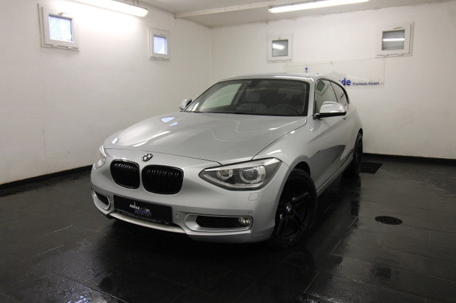 BMW 118 i URBAN LINE BIXENON|NAVI|KLIMA|M LENKRAD|PD, Jahr 2013, Benzin