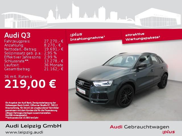 Audi Q3 1.4 TFSI sport *Navi*Optikpaket Schwarz*DAB*, Jahr 2018, Benzin