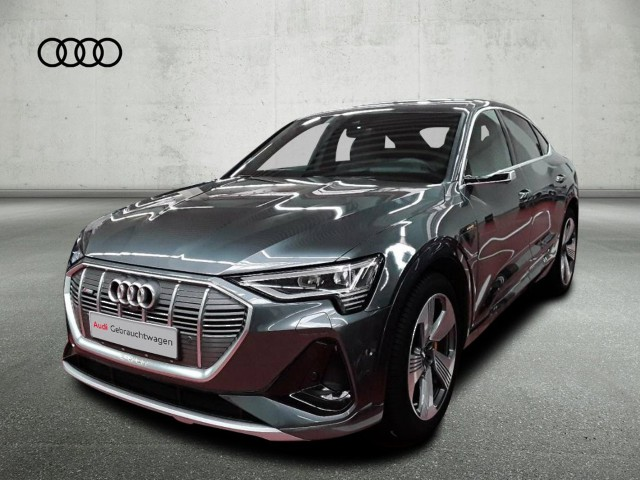 Audi e-tron Sportback 50 quattro S line MatrixLED Pano HuD Navi DAB VC B&O, Jahr 2020, Elektro
