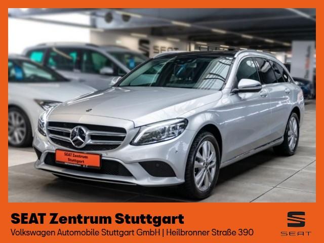 Mercedes-Benz C 200 T Avantgarde 4Matic *Navi* *AHK* *Panorama* *Einparkhilfekamera* *Sitzheizung*, Jahr 2019, Hybrid
