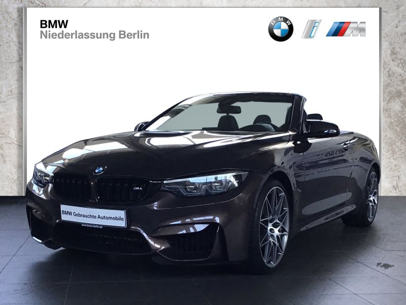 BMW M4 Cabrio DKG Competition EU6 LED Navi Head-Up, Jahr 2017, Benzin