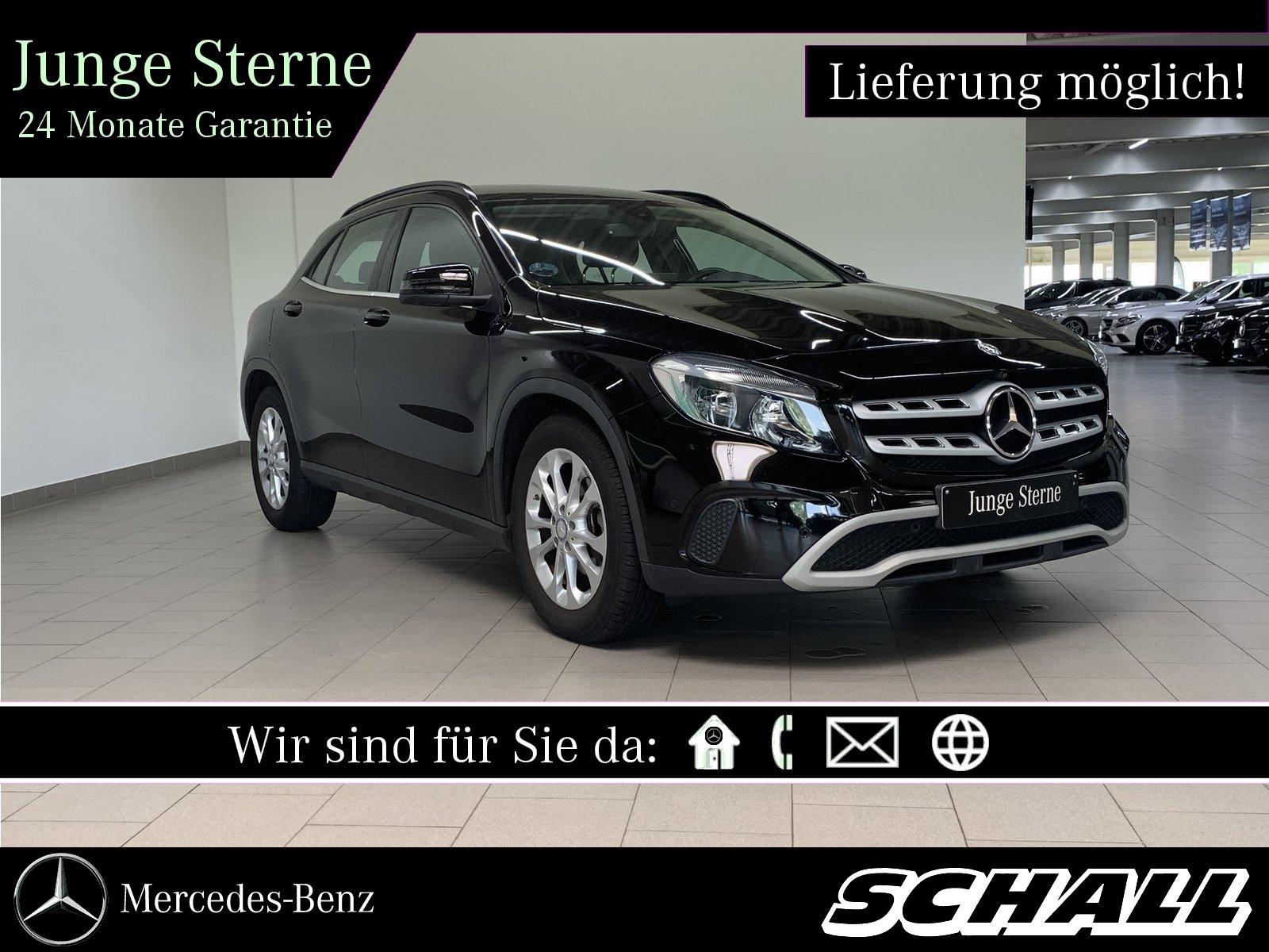 Mercedes-Benz GLA 180 d STYLE+NAVIGATION+360°-KAMERA+LEDER+17, Jahr 2018, Diesel
