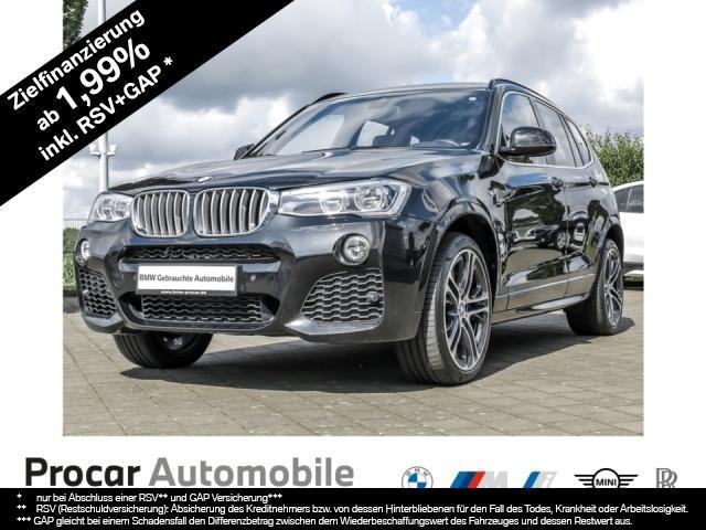 BMW X3 xDrive35d M Sportpaket Head-Up LED AHK Pano, Jahr 2017, Diesel