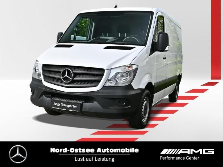 Mercedes-Benz Sprinter 214 kurz AHK Doppelbeifahrer Holzverkl, Jahr 2016, Diesel