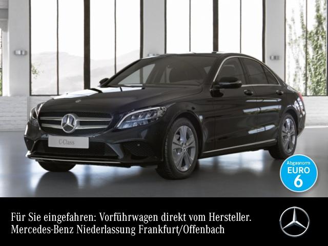 Mercedes-Benz C 200 d AVANTG+LED+Spur+Totw+Keyless+9G, Jahr 2021, Diesel
