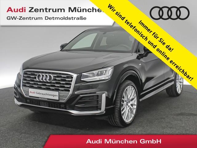 """Audi Q2 1.4 TFSI S line Virtual LED Navi Leder R-Kamera 19"""" S tronic, Jahr 2017, petrol"""