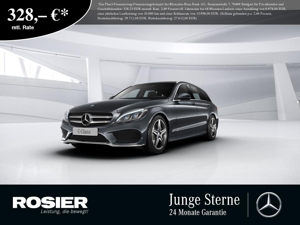 Mercedes-Benz C 400 4M T AMG Sport, Jahr 2016, Benzin