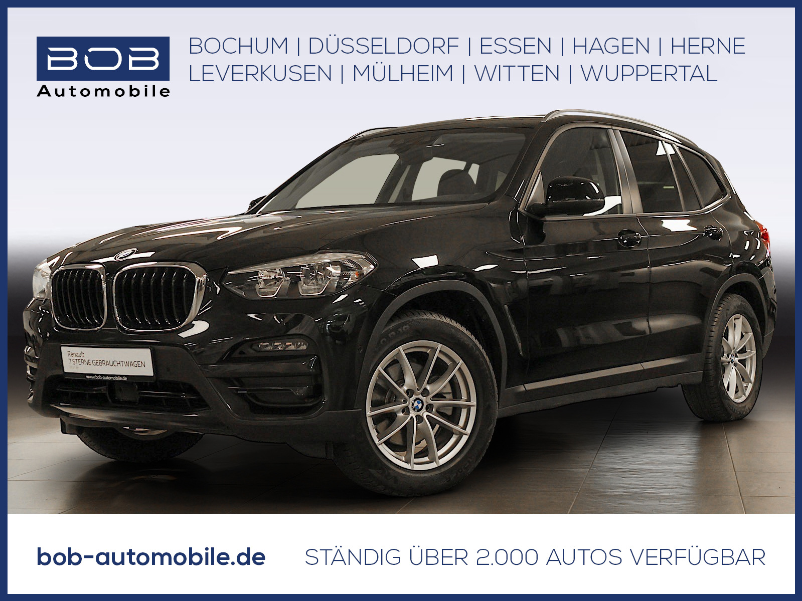BMW X3 xDrive20d Advantage ACC NAVI SHZ PDC HUD LED, Jahr 2020, Diesel