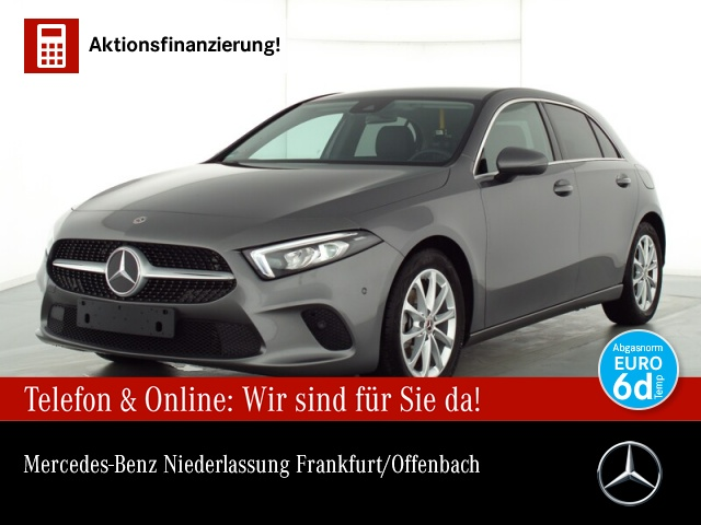 Mercedes-Benz A 180 Progressive Navi Premium LED Spurhalt-Ass, Jahr 2020, Benzin