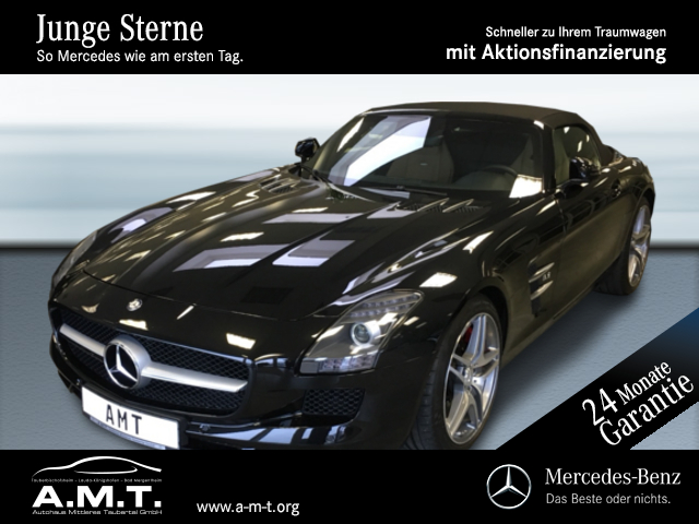 Mercedes-Benz SLS AMG Roadster Comand/Kamera/Memory/Bi-Xenon, Jahr 2012, Benzin