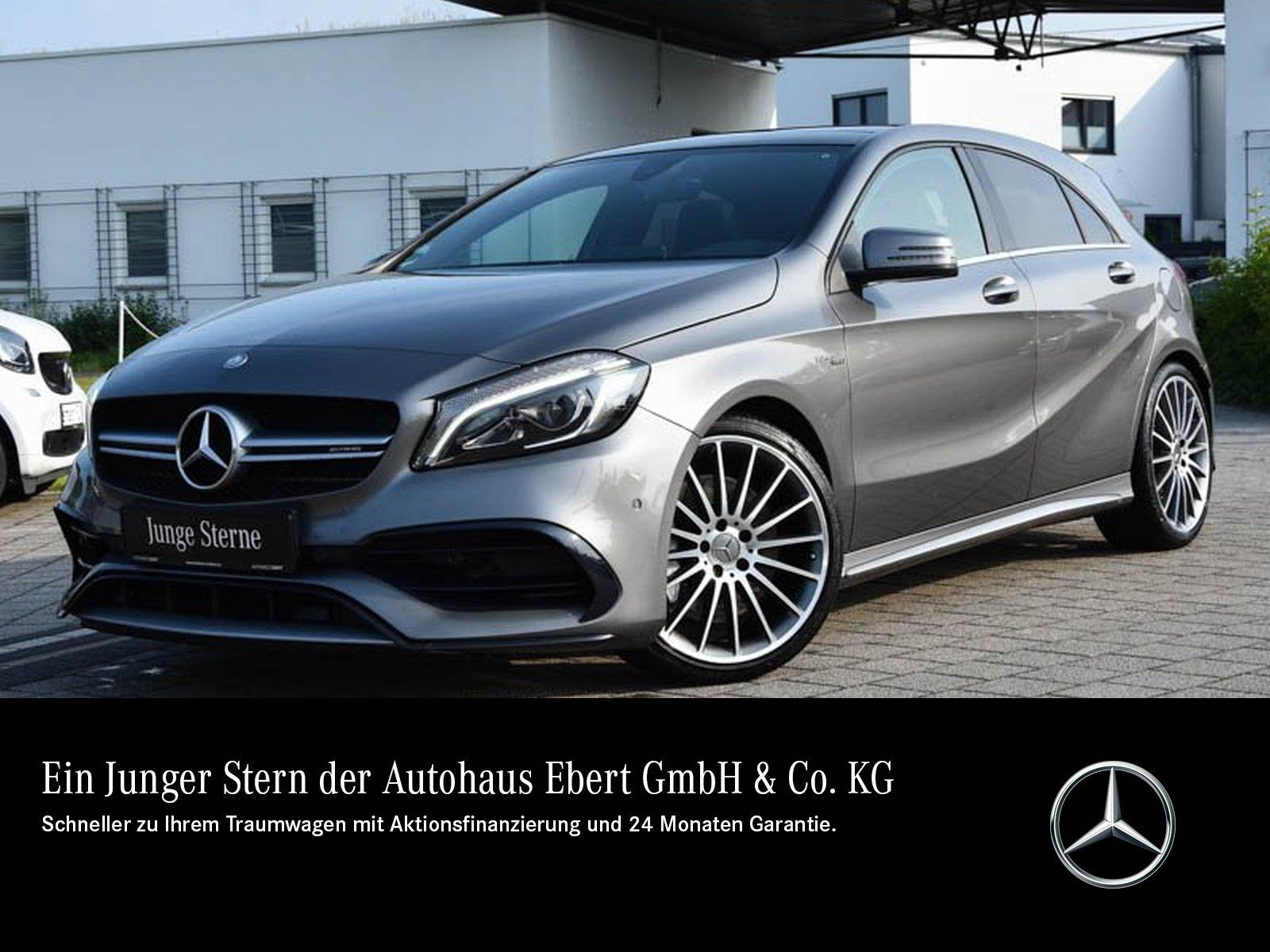 Mercedes-Benz A 45 AMG 4M 7G-DCT+NAVI+RFK+PSD+LED, Jahr 2017, Benzin