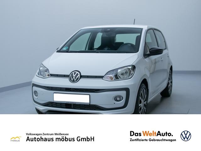 Volkswagen up! 1.0 UNITED*KLIMA*DAB*GRA*USB*TELEFON*RFK*PDC, Jahr 2020, Benzin
