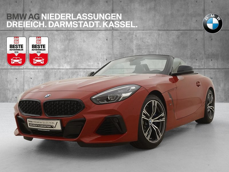 BMW Z4 M40i Head-Up HiFi DAB LED Navi Prof., Jahr 2019, Benzin