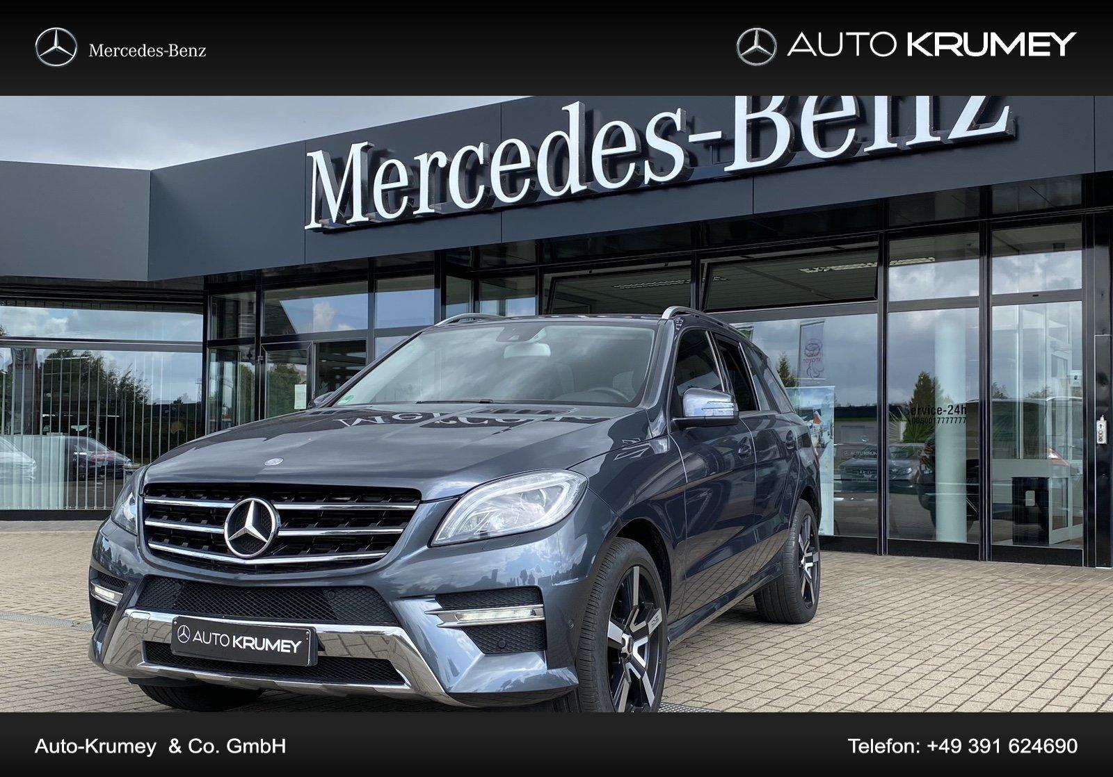 Mercedes-Benz ML 350 CDI BlueTec COMAND,Airmatic,LED,AMG Klima, Jahr 2012, Diesel