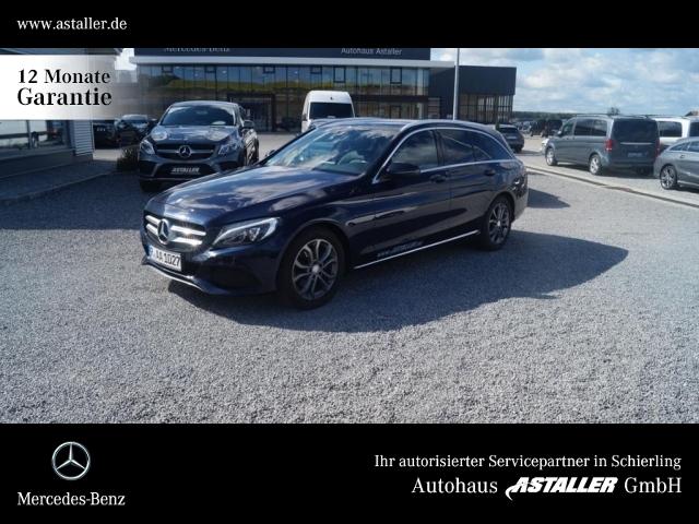 Mercedes-Benz C 180 T d Avantgarde ext+AMG int+LED HI+PDC+Navi, Jahr 2015, Diesel